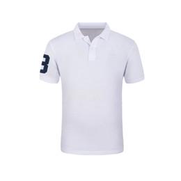 Erkekler Için erkek Marka Polo Gömlek Polos Erkekler% 100% Pamuk 35 Renk Kısa Kollu Katı Gömlek Elbise Şarap Mavi Gri Kırmızı nereden