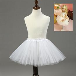 b75299849d2 Nouveaux enfants jupons pour robe de demoiselle d honneur robe fille  blanche sans cerceaux crinoline blanc rouge noir princesse enfant   jupon  jupon