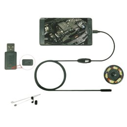 Canada Gros-6LED 7mm lentille endoscope endoscope étanche inspection endoscope caméra pour Android cheap inspection camera wholesale Offre