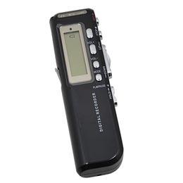 Wholesale Digital Formats - Wholesale-2017 Brand New VOR digital Voice Recorder 8GB Voice Activated Dictaphone + MP3 Player gravador de voz Recording Format WAV