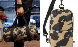 Wholesale Men Chest Pack Sling Single Shoulder Strap Pack Bag Travel Bags Camouflage Canvas Rucksack Chest backpack