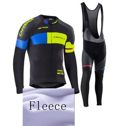 Wholesale Orbea Cycle Clothing - ORBEA pro cycling jersey 2017 Winter Thermal Fleece ropa ciclismo maillot ciclismo bicicleta roupa ciclismo bike clothes BIB sets