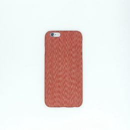 Wholesale Thin Big Cell Phones - Big discount Red chicken wings wood-Ultra thin Real wood Carbon fibre Kavler cell phone case Newest top Quality  Cases For apple 6 6s