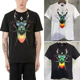 Wholesale Marcelo Burlon T Shirt - Marcelo Burlon Men Women T-shirt MB Wings Paris Hip Hop Skateboards Harajuku Style Italy Summer Eagle Kanye T Shirts happy_weddings