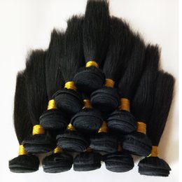 Wholesale Eurasian Straight Hair - Grade 8A Virgin Hair Unprocessed Eurasian Brazillian Straight Hair 3Pcs Lot -26inch High Quality Indian Remy hair weft extension DHgate