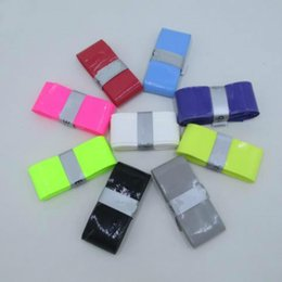 Wholesale High Quality Tennis Grips - Wholesale- High Quality PU Skidproof Sweatband Tennis Fishing Racket Overgrips Anti-skid Sweat Absorbed Wraps Taps Badminton Racquet Grips