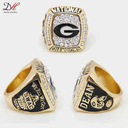 Wholesale Great Universities - CR-20482 university football 2011 classic sports rings