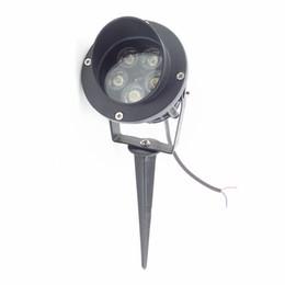 Wholesale Inground 12v - 5X1W High Power LED Path Spot Light With Base or Spike LED Lawn Spike Light LED Inground Flood light
