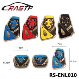 Wholesale Brakes Pads - RASTP-Car Non-Slip Manual Brake Clutch Accelerator Foot Treadle Auto Pedal Pad Board Set RS-ENL010
