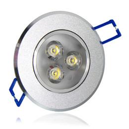 Wholesale heating warm - LED Ceiling Light Downlight spotlights 3W 6W 9W Ceiling lamp AC85-265V Aluminum Heat Sink convenience lamp led light