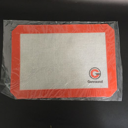Wholesale Bong Pads - 1pcs Silicone Wax Food Grade Non-stick square sheets pads mat tool Fiberglass Baking Tools for Glass bong dry herb and wax dabbing