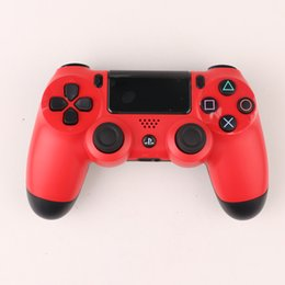 Wholesale wireless controller wholesale - PS4 controllers Wireless Controller Double Shock for PS4 wireless controllers playstation 8 Colors with retail box