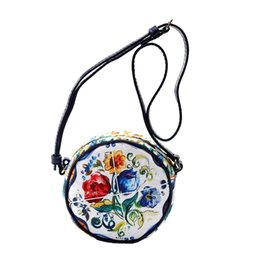 Wholesale Costume Bags - Baby Girls Clothes Designer Princess Costumes Children Clothing 'Ortensia' Flower Bag Matched with Kids Girls Dresses