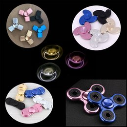 Wholesale Bike Aluminium Alloy - Metal Hand Fidget Spinner Zinc Aluminium Alloy Finger Spinners Fidget Toy Hand Spinne Decompression Anxiety Toys For Killing Time