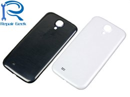 s4 parts Australia - New For Samsung Galaxy S4 i9500 I9505 I337 I545 Housing Battery Back Cover Case Door Replacement Parts