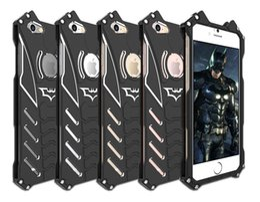 Canada R-just Design Metal Aluminium LuxuryTough Armure THOR Batman Téléphone Cas pour IPhone 5C 5S 6 6S plus 7 / Plus 7 plus couvercle de logement Offre
