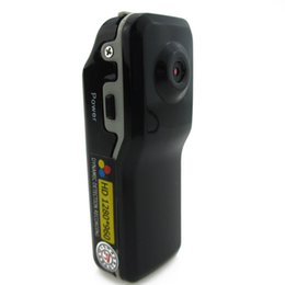 Wholesale Tiny Hd Video Camera - Wholesale-Portable Mini DV HD Action Tiny Camera DVR with 1280*960 Video Audio Recorder Supports Light Off Motion Detection Works