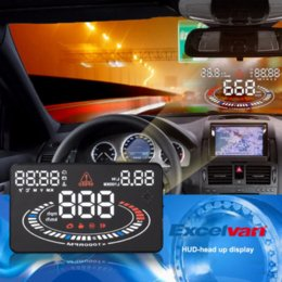 """Wholesale Dc Cooling System - 2D Vision Cool 5.5"""" E300 Car HUD Head Up Display Projector OBD2 OBDII Interface Speed Warning System Speedometers"""