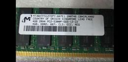 Wholesale Ddr2 667mhz 4gb - Server memory 2GB DDR2 667MHz ECC REG RDIMM 4GB 2Rx4 PC2-5300P RAM for Power Edge 2970 T300 T605 6800 6950 6850 M605