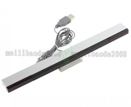 Wholesale nintendo wire - NEW Wired Sensor Bar with USB Cable for Nintendo Wii   Wii U   PC EGS_813 FREE SHIPPING MYY