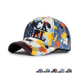 Wholesale Graffiti Snapback Hats - Wholesale Fashion Hip Hop Cap Women Men Graffiti Brand Snapback Cap Baseball Cap Snapback Hat Free Shipping