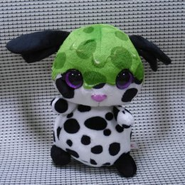 "Wholesale Wholesale Big Stuffed Animals - Wholesale- IN HAND syrup STUFFED ANIMAL BIG eyes Glitter EYES Nicidoos Green pubby 10"" 25cm Cute Plush doll"