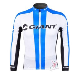 Wholesale Giant Cycling Jackets - New Giant pro team Cycling Jersey Bicycle Clothing Ropa De Ciclismo men's autumn long Sleeve MTB maillot Bike Jacket D0805