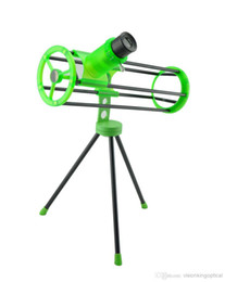 Wholesale Gifts Astronomy - Visionking 76300 (76 300mm) Space Newtonian Reflector Astronomical Telescope Green Gift 3 inch for beginner Kids