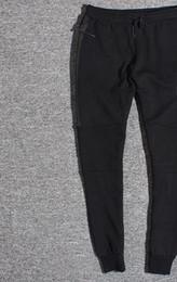 Wholesale Tracksuits Bottoms - Wholesale Tech Fleece Sport Pants Space Cotton Trousers Men Tracksuit Bottoms Man Jogger Tech Fleece Camo Running pant 2 Colors