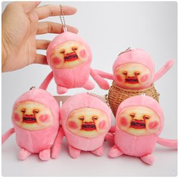 Wholesale Fairy Games - new high quality Kobito dukan fairy Peach Soft Plush Doll Pink Cartoon Toys for Kids Birthday Present