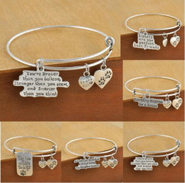 Wholesale Expandable Bangle Bracelet Wholesale - New design high quality plated dog lover's bracelet bangles jewelry adjustable expandable wire dog paw charm bracelet