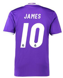 Wholesale Cheap Soccer Shirts Wholesale - 2016 new popular 16-17 Customized 10 JAMES Soccer Jerseys Tops,Cheap 8 KROOS Soccer Shirts,Wholesale Football Jerseys,mens Football WEAR