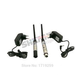 Wholesale Dmx Transmitter Receiver - DMX512 DMX Dfi DJ Wireless system Receiver or Transmitter 2.4G for LED Stage Light LED Light 300m Control