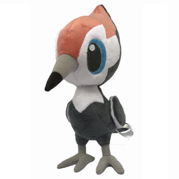 "Wholesale Birds Plush Toys - New Hot 9"" Pikipek Poke Doll Anime Collectible Birds Plush Dolls Party Gifts Animals Soft Stuffed Toys"