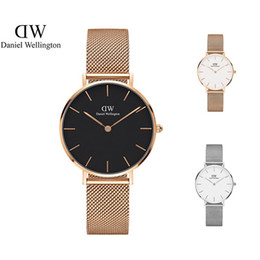 Wholesale Round Steel Stock - 2017 In stock top brand fashion casual sports watches 32mm women military Quartz Watch watching relogio masculino Wristwatch
