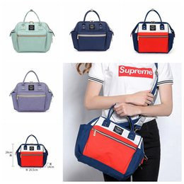 Wholesale Diaper Nappy Tote - Mommy Bags Nappy Backpacks Mother Backpack Diaper Bags Maternity Large Volume Outdoor Travel Tote Bags 4 Colors OOA2909