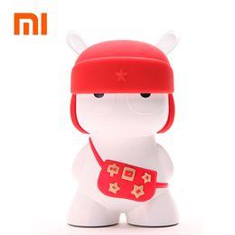 Wholesale Mi Rabbit - Wholesale- Original Xiaomi Rabbit Mi Bluetooth Speaker Portable Wireless Mini 32G Micro SD Card Speaker for IPhone and Android Phones