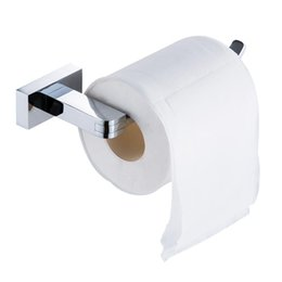 Wholesale Chrome Roll - Time-limited Toilet Tissue Roll Paper Holder Wall-mounted Stainless Steel Kitchen Brand Bathroom Accessories Cavoli 55707