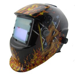 Wholesale Cheap Welding Helmet - Sexing Cheap outside control darkening area DIN7-12 Solar auto darkening welding helmets welder mask eyes glasses goggles