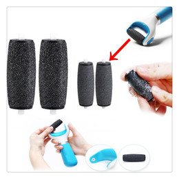 Wholesale Head Massager Accessories - High Quality Electric Foot File Replacement Roller Head Pedicure Dead Skin Foot File Callus Remover Shaver Tools Foot Care Accessories