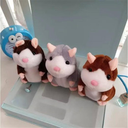 Wholesale Plush Recorder - Hot Sale!Super Likable Hamster Copy Voice Pet Recorder Talking Hamster Plush Toy, Taking Hamster toys Baby Toy Gift Holiday gifts