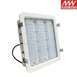 Wholesale White Led Manufacturers - Wholesale- High Luminous Efficiency 100W 150w 180w LED Canopy Light For Gas Station Manufacturer CE UL DLC