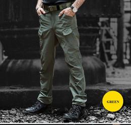 Jungen Kleidung Military Tactical Cargo Hosen Männer Swat Kampf Armee Hosen Männlichen Khaki Camouflage Hosen Männer Viele Taschen Baumwolle Hosen Mann 1924