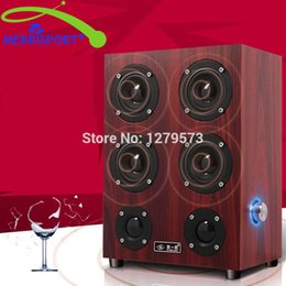 Wholesale home music speakers - Wholesale- High Performance 4.0 Surround Sound Home Theater Speakers System For Home Theater TV Computer MP3 4 Players Tablet Music Systems