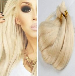 Wholesale Virgin Malaysian Remy Hair Bulk - Hair bulk Brazilian virgin hair bulk straightl #613 blonde 100% human hair 14-30 inch 100% human Brazilian remy weave extensions