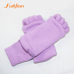 Wholesale Sleeping Massage Toe Socks - Wholesale-Sleeping Health Foot Care Massage Toe Socks Five Fingers Toes Compression Treatment of Bending Deformation for women men's sock