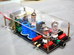 Wholesale Audio Amplifier Tubes - Freeshipping 1PCS High quality 6N3+6Z4 tube valve Pre-AMP Class A audio stereo preamplifier include transformer new