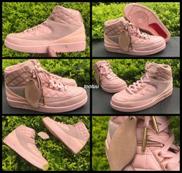 Wholesale Tennis Balls Sale - 2017 New Retro Jumpman Team 2 II GS Retro 2 Men Women Basketball Shoes Sneakers Retros 2s Sports Basket Ball Shoes Pink 36-47 Online Sale