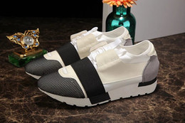 2017 New Fashion Red Sole Sneaker High Quality Men Leather Top Casual Shoes Free Express 36 46