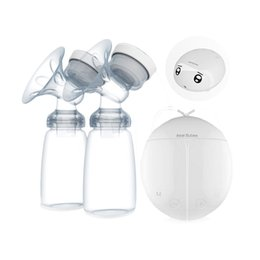 Wholesale Electric Rechargeable Pump - Suncity Real Bubee Bilateral Electric Pumps Postpartum Breast Feeding Device High Quality Wholesale